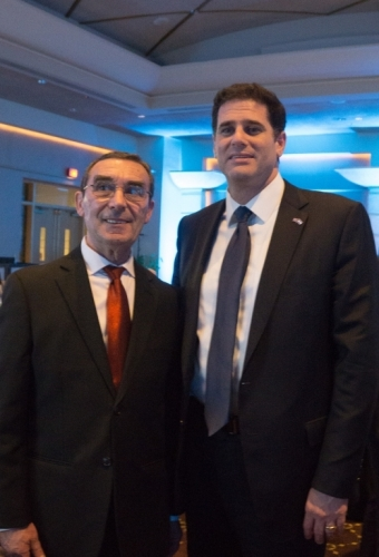 With Ambassador Dermer