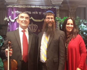 With Rabbi Yosef Konikov