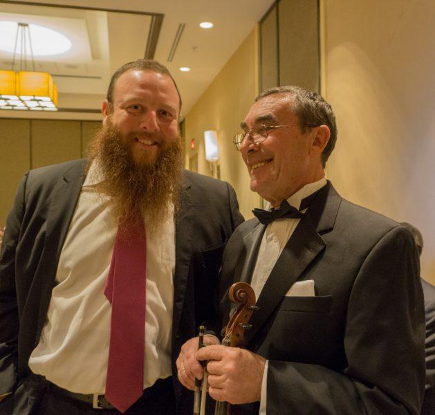 Boris with Rabbi Nochum Kurinsky