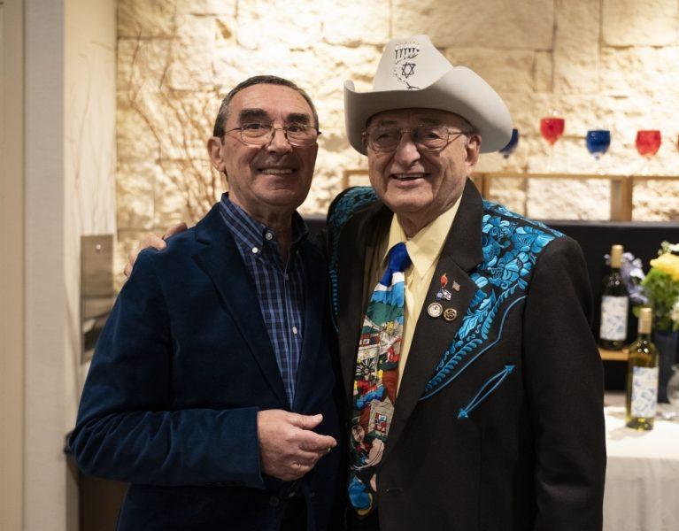 Boris with Jay M. Ipson