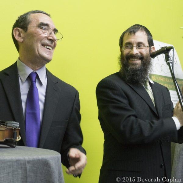 With Rabbi Avrohom Stolik