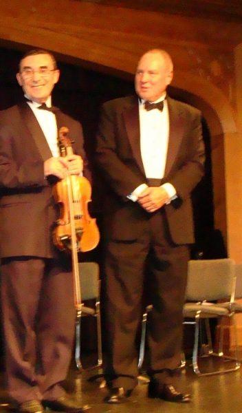 With Prof David Watkins