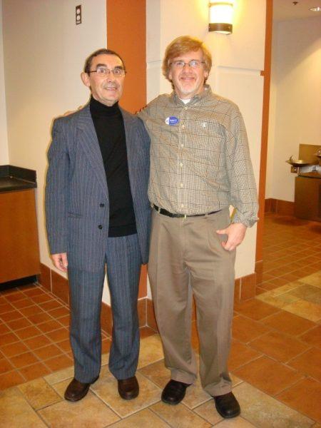 With Rabbi Brian Glusman