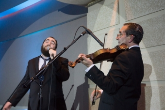 With Boruch Sholom Blesofsky