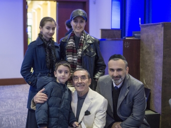 With Barayev Family