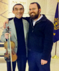 With Rabbi Nochum Light