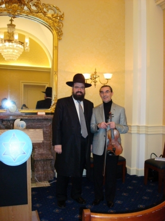 With Rabbi Levi Shem Tov
